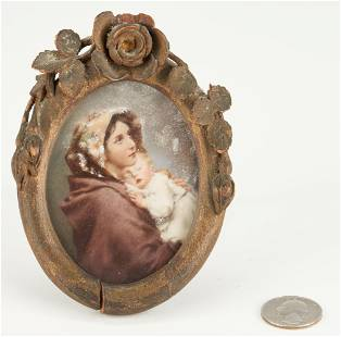 John Ramsier KY Portrait Miniature, New Madonna