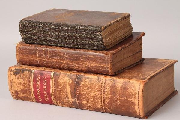 1: 3 Books, Johnson Impeachment, Life of Andrew Jackson