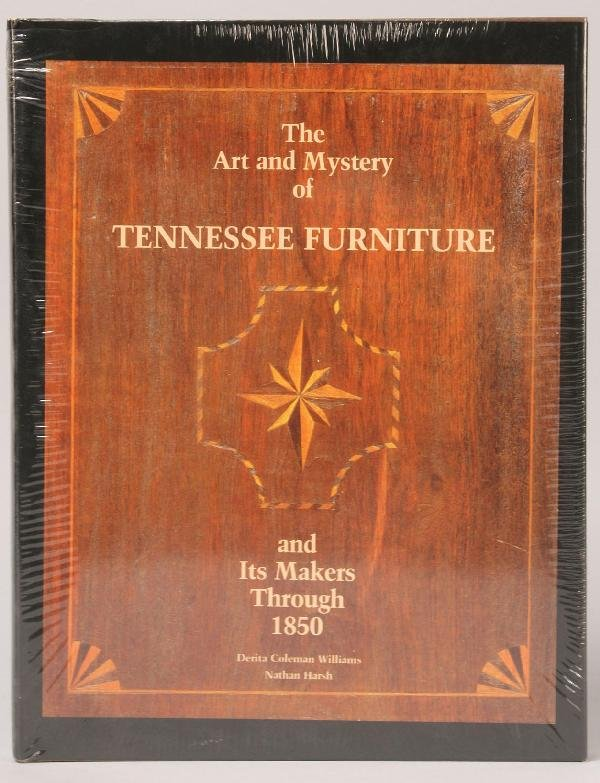 """2: Book: """"The Art and Mystery of Tennessee Furniture"""""""