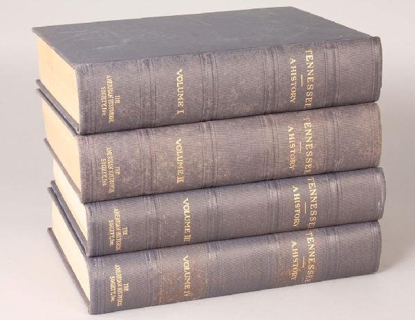 """3: 4 Volume Set, """"Tennessee, A History"""""""