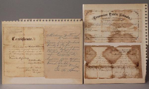 5: East TN-related Documents, Civil War Era
