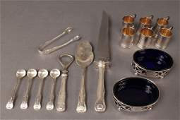 312 Assorted Sterling Silver Tableware 16 pcs