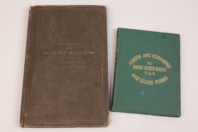 6: Lot of 2 E. TN Civil War era books