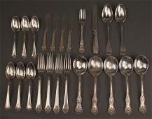 228: Lot of 23 pieces assd. sterling flatware