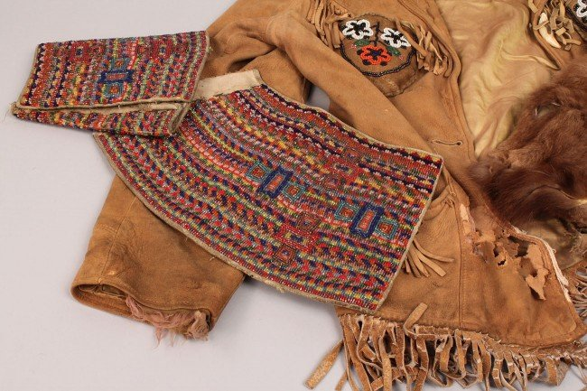 569: Lot of Inuit and Plains Indian Clothing - 2