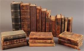 578 Assembled Lot of 18th  19th c Books 20