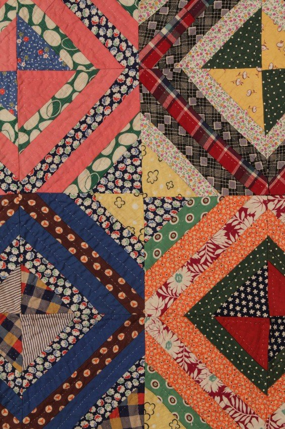 187: East TN Quilt, African American History : Lot 187