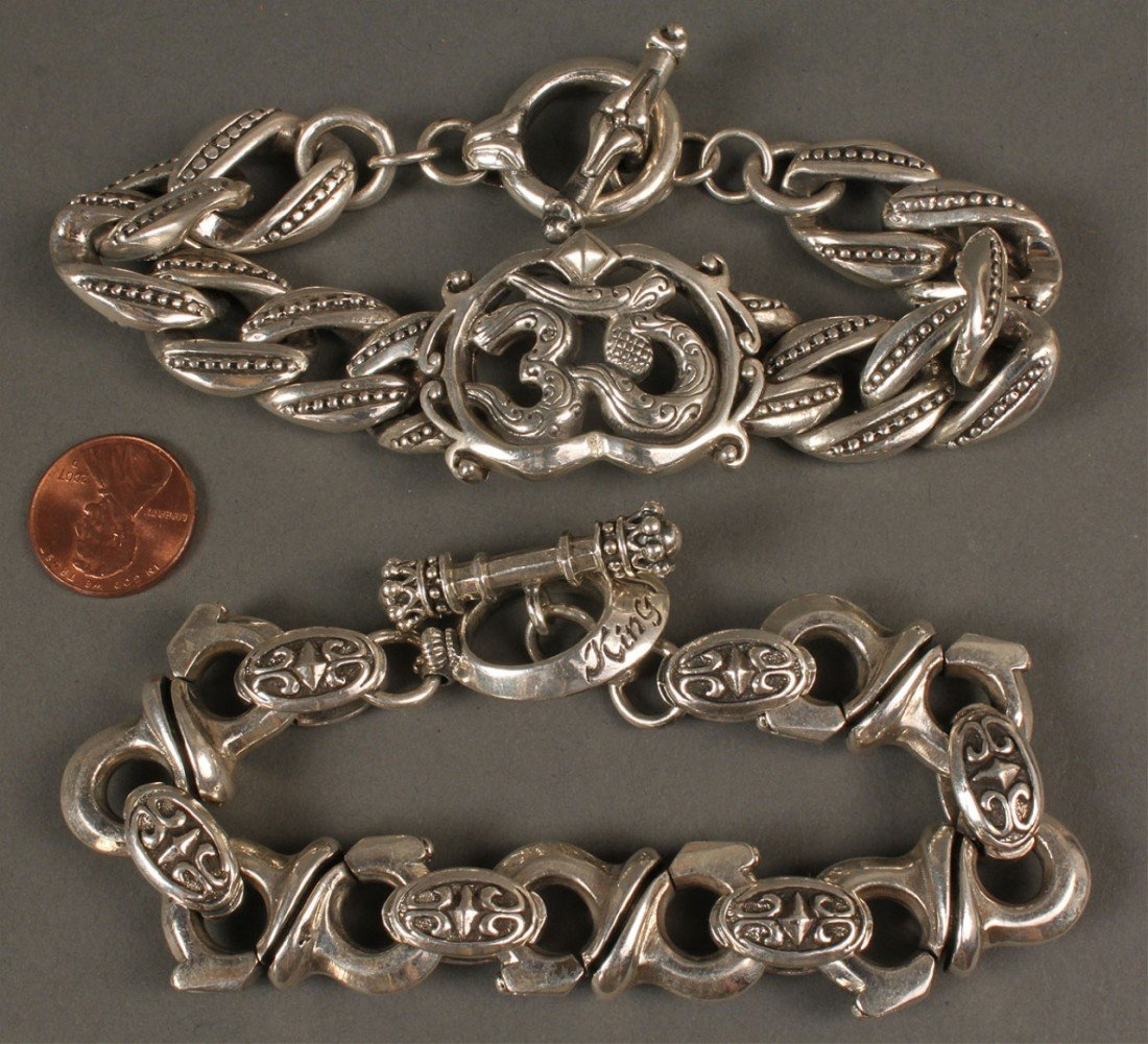 393: 2 Men's Bracelets: King Baby & Royal Underground - 2