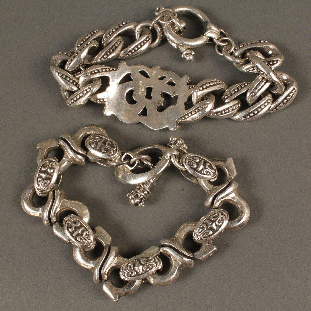 393: 2 Men's Bracelets: King Baby & Royal Underground - 3