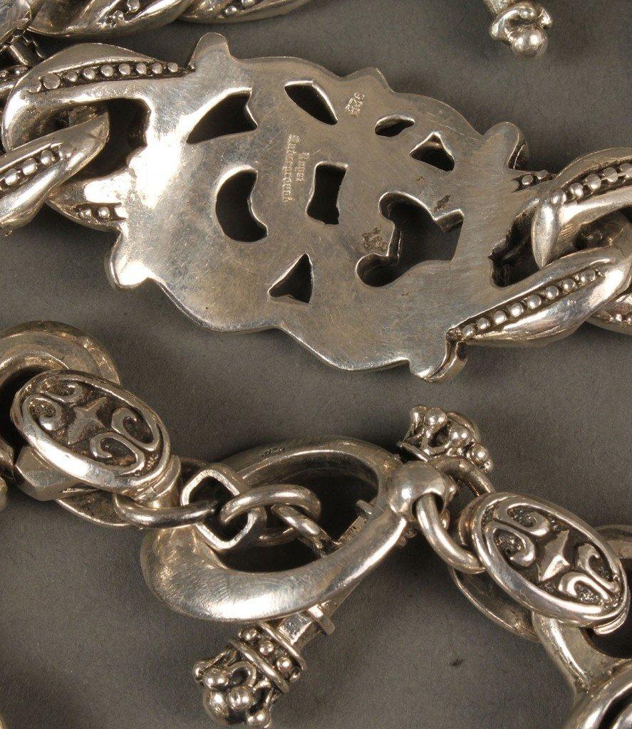 393: 2 Men's Bracelets: King Baby & Royal Underground - 4