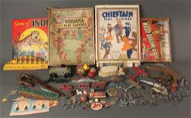 737 Lot of assorted of Vintage Toys Over 36 items