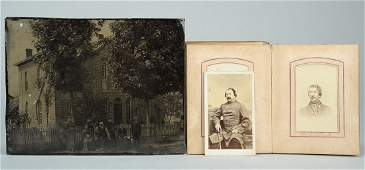 69: CSA Gen. William Raine Peck CDV and album