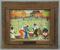 442 Alice Latimer Moseley painting cotton pickers