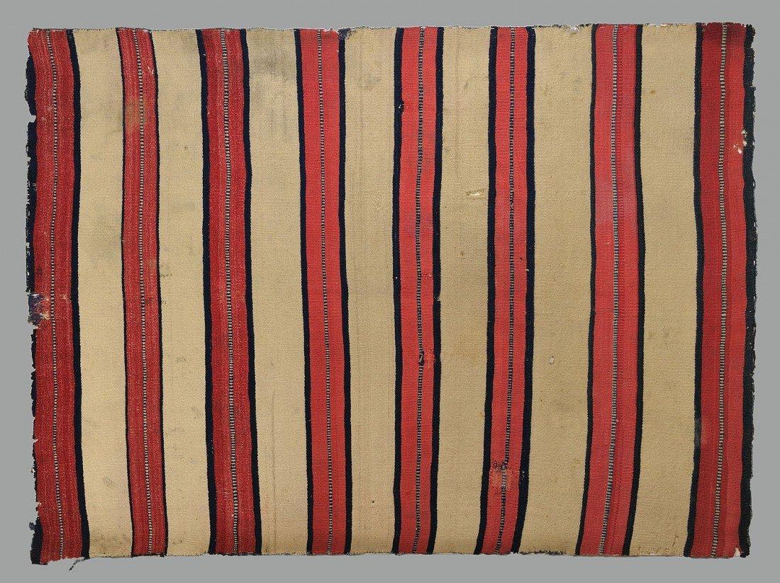 460: Late Classical Navajo Man's Wearing Blanket