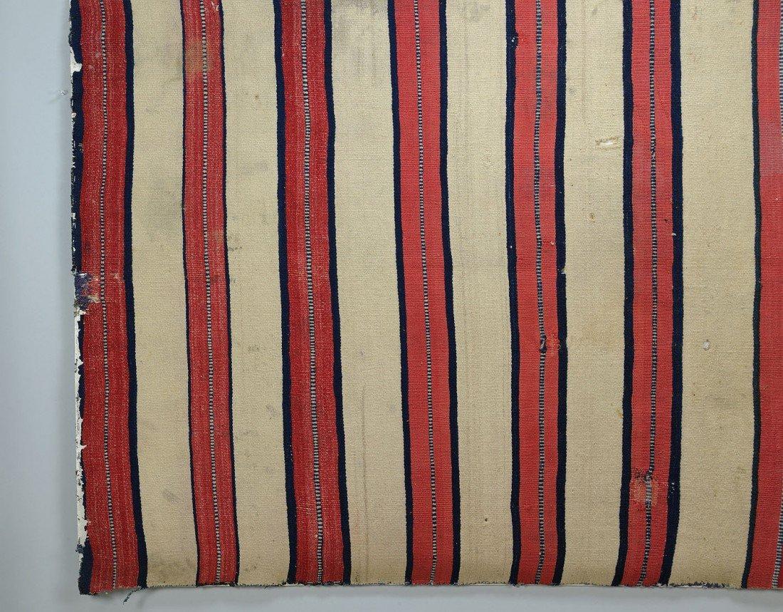 460: Late Classical Navajo Man's Wearing Blanket - 5