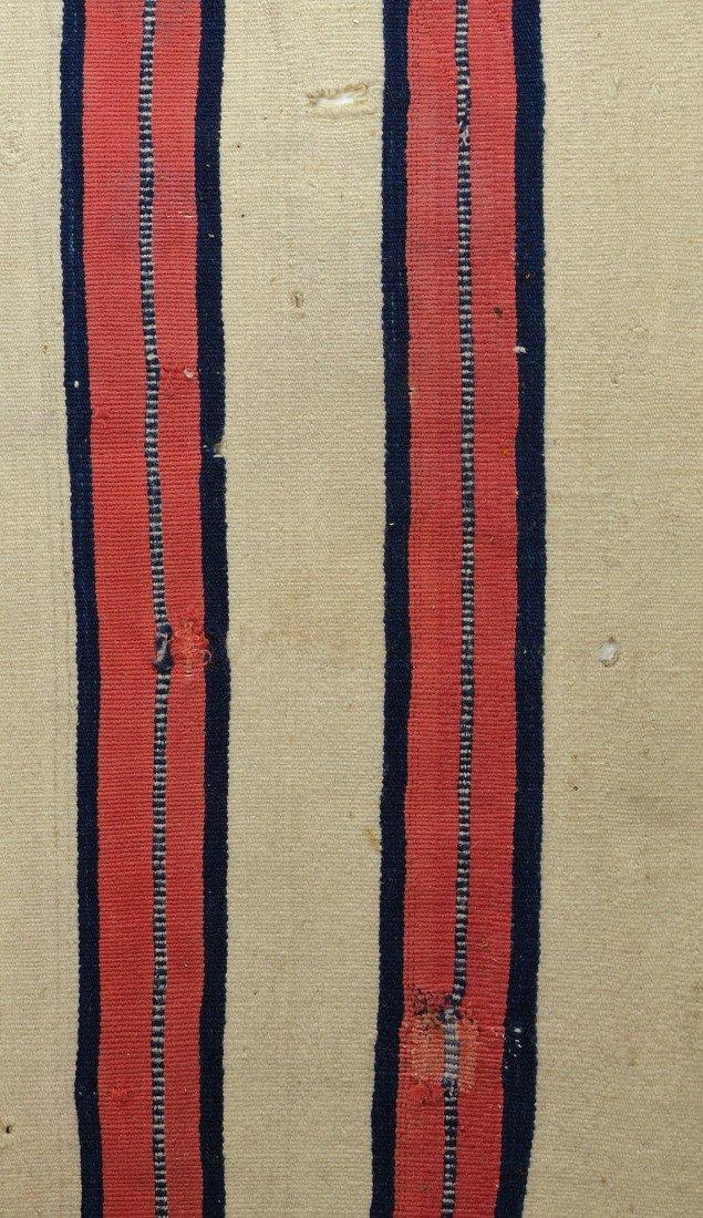 460: Late Classical Navajo Man's Wearing Blanket - 6
