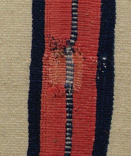 460: Late Classical Navajo Man's Wearing Blanket - 8
