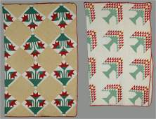 643 2 East Tennessee Pieced Cotton Quilts