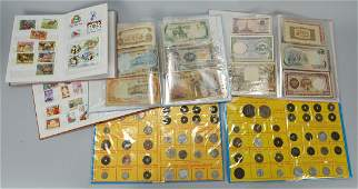 746: Vietnamese Currency & Stamp Collection