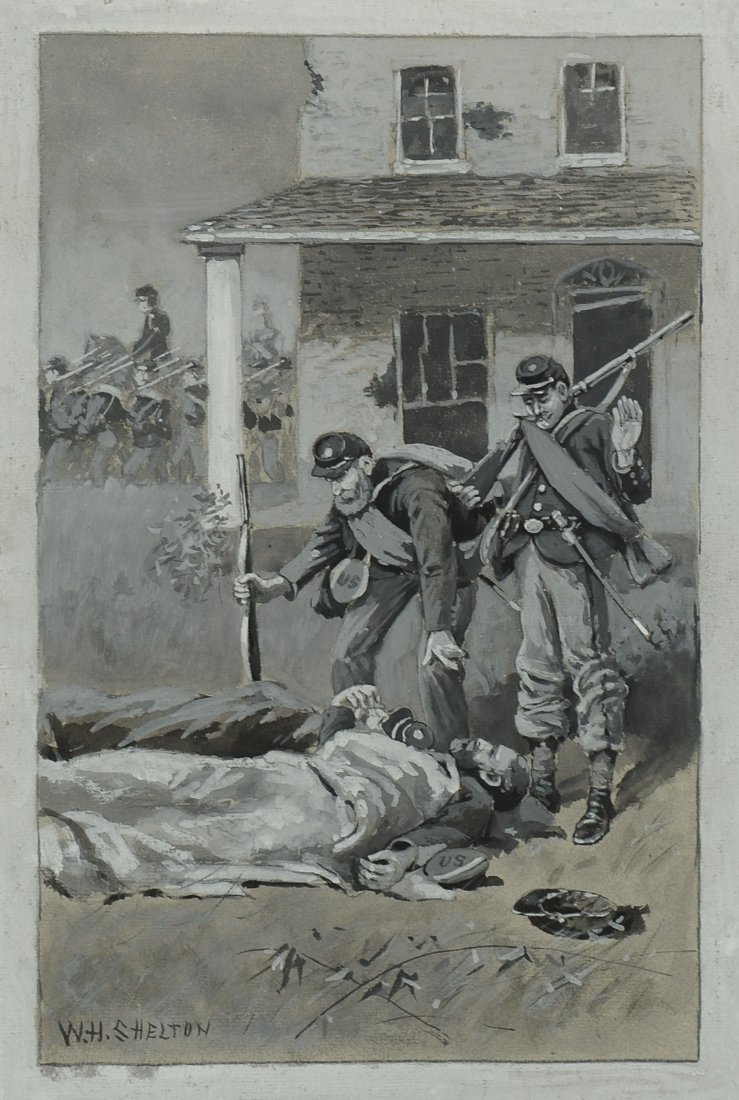 William H. Shelton, Civil War painting