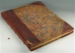 Oversized Folio Book of William Hogarth Prints