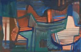 Roberto Burle Marx Abstract Painting