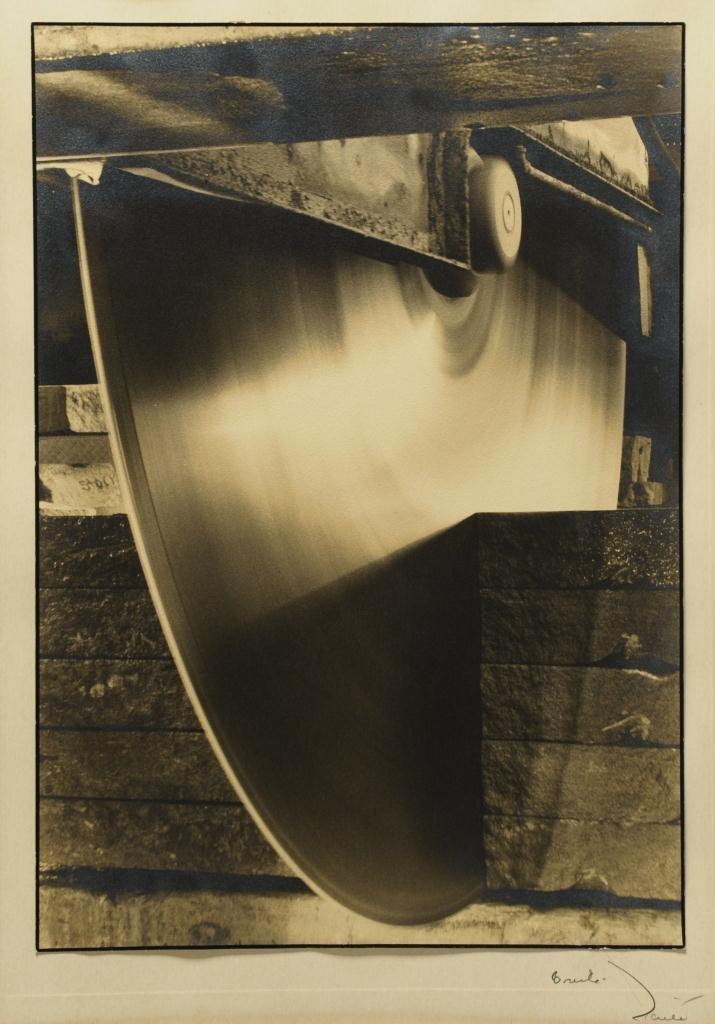 Margaret Bourke White Photograph, Diamond Edge
