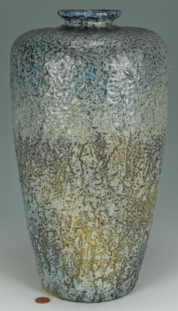 Large Tiffany Favrile Pottery Vase