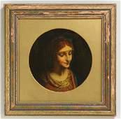 Italian School, Mary Magdalene, 19th c. o/c