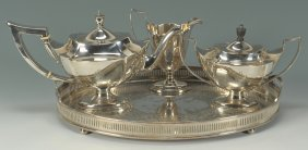 Gorham Plymouth Sterling Tea Service
