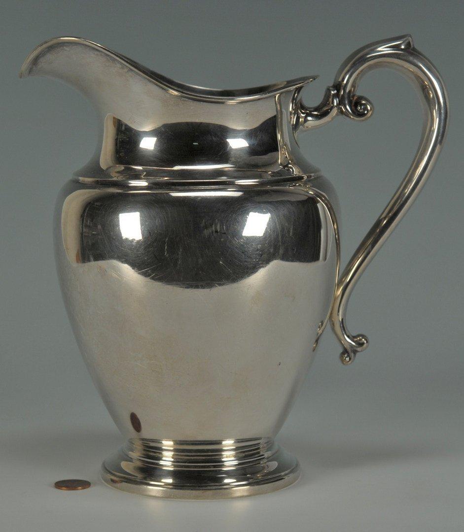 232: Preisner Sterling Silver Water Pitcher