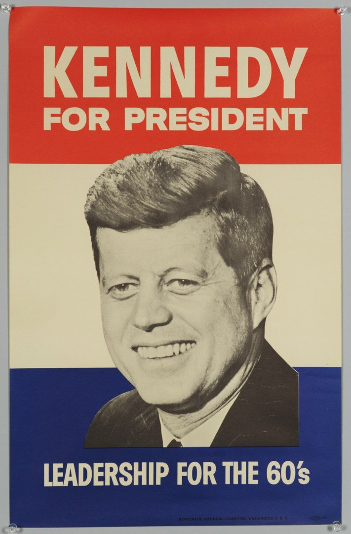 259: Two 1960 John F. Kennedy Campaign Posters - 3