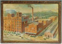 569: Chattanooga Brewing Company Ad Sign on Tin