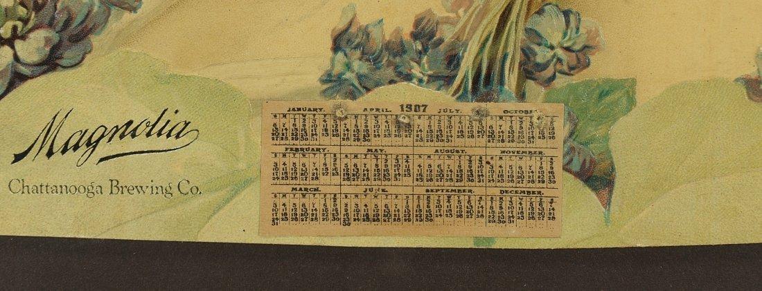 573: Framed 1907 Chattanooga Brewing Co. Calendar - 3