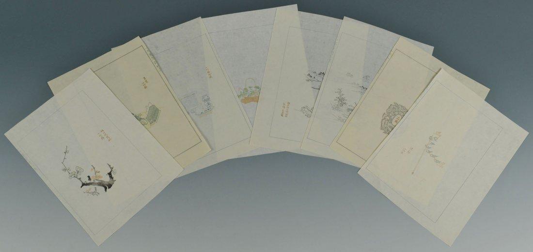 6: 22 Woodblock Prints, Ten Bamboo Studio