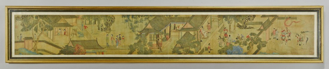 7: Classical Chinese Handscroll on Silk