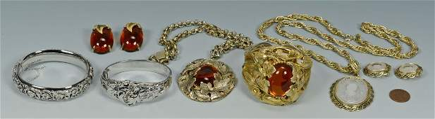 749 Whiting  Davis Costume Jewelry 7 pcs