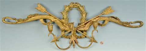 Palladio Italian Gilt Wood Sconce