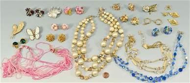 Lot of Capri and Vendome Costume Jewelry