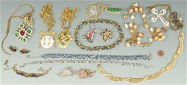 Group of Designer Costume Jewelry by Trifari