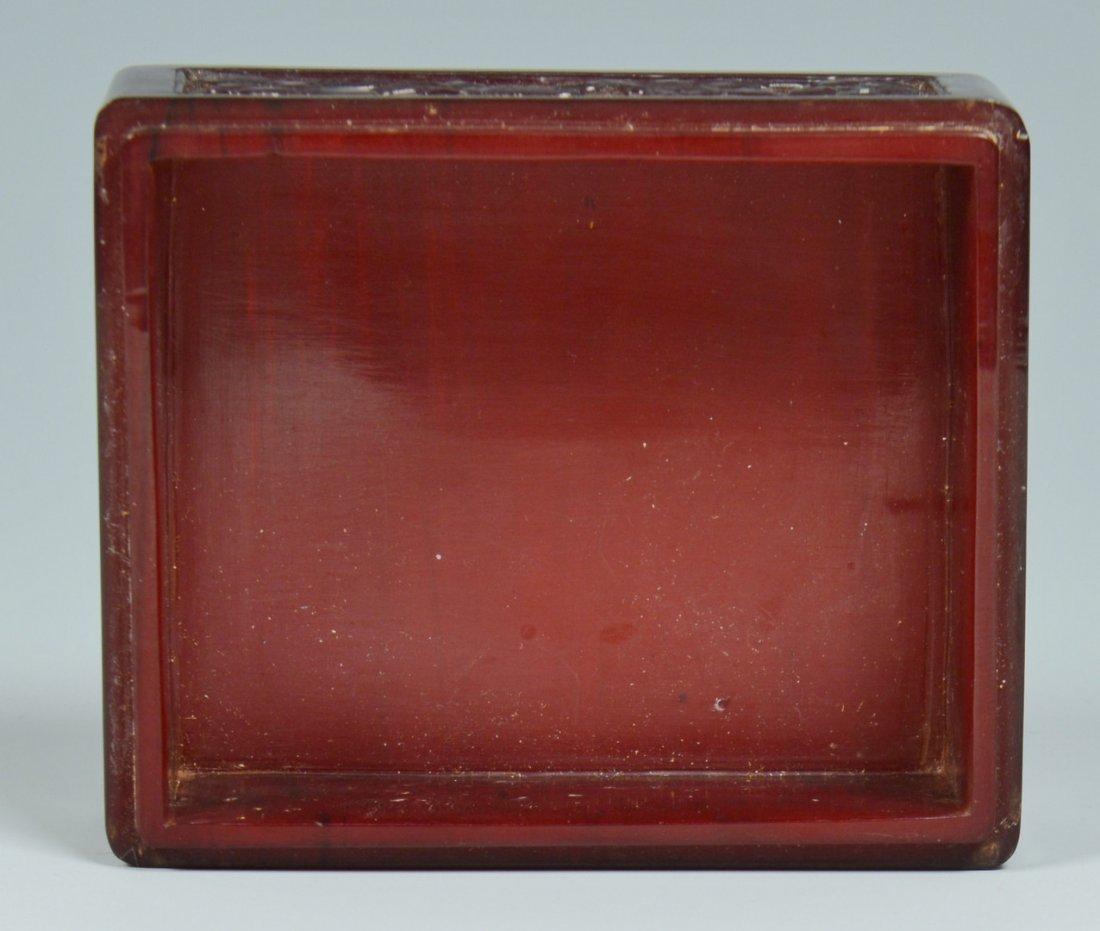 Chinese Silver Zeewo plate, Cherry Amber Box - 10