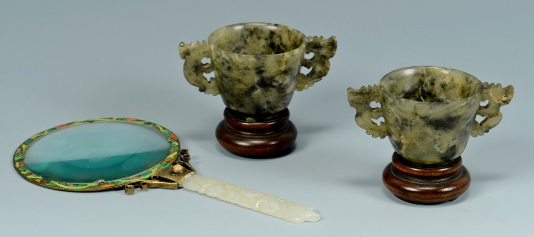 3 Chinese Jade items
