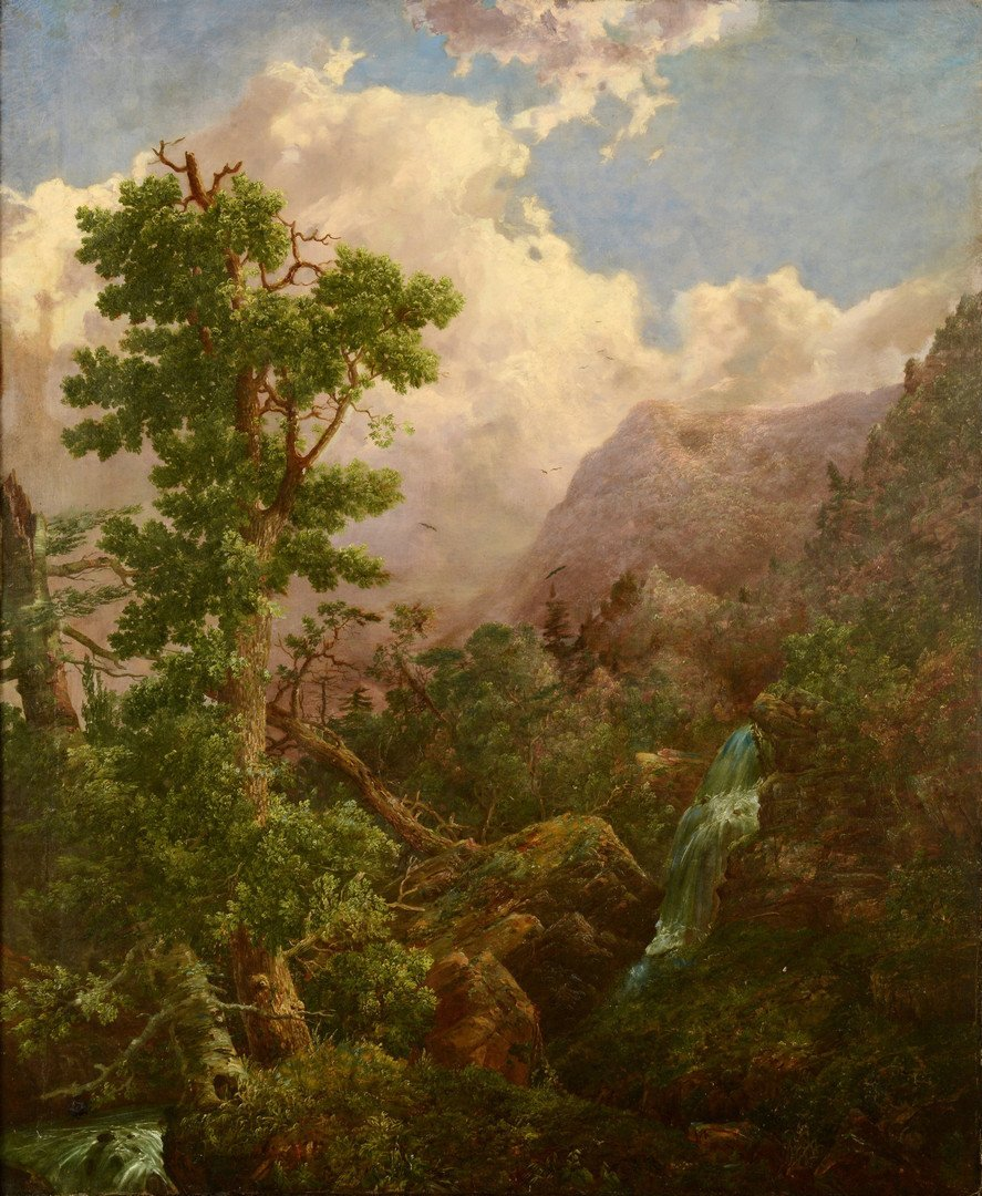 William Louis Sonntag Sr. o/c landscape