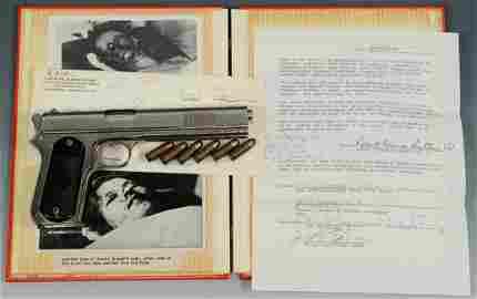 .38 Colt Model 1902 Pistol, Bonnie & Clyde