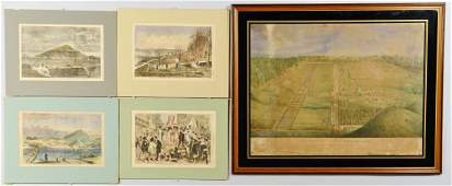 Camp Dennison and Harpers Ferry Prints