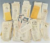 1864 Presidential Ballots, 730 Total