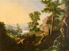 Large Hudson River landscape