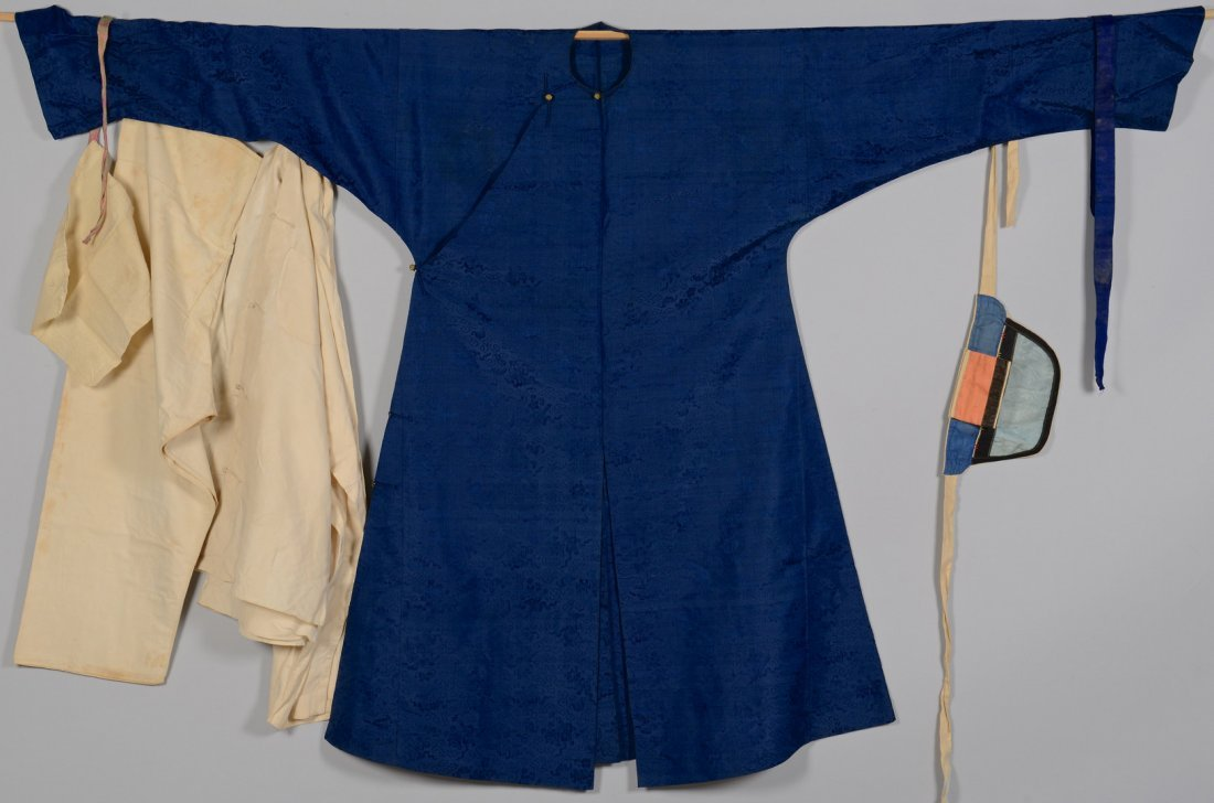 Qing Silk Robe w/ Undergarments