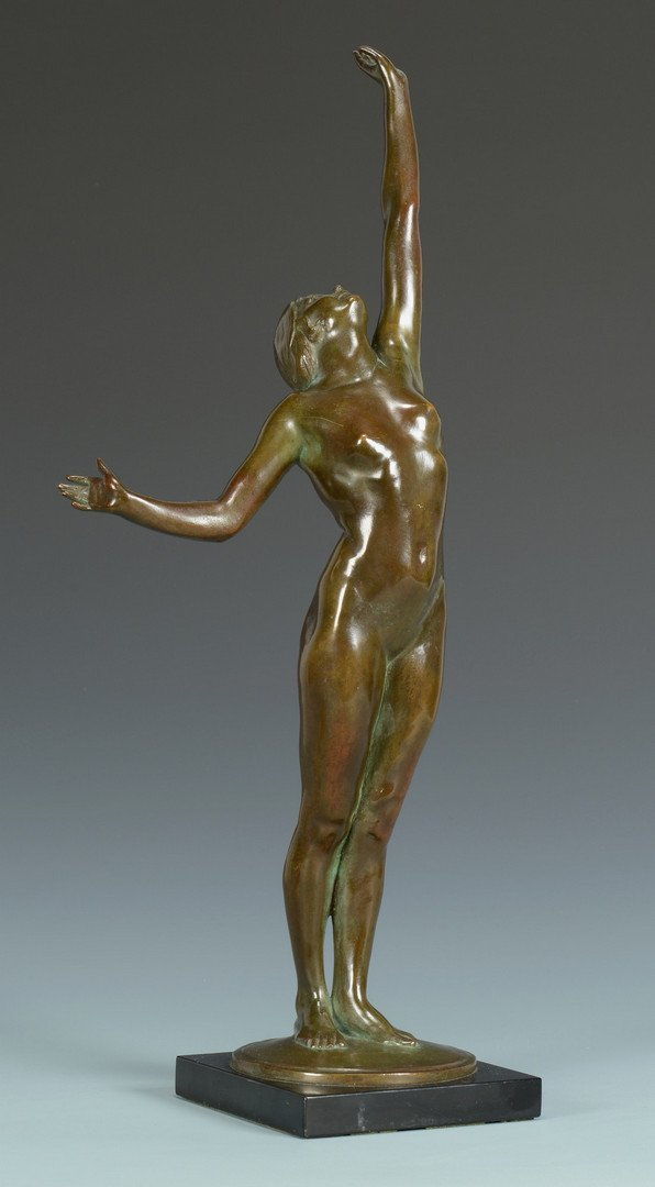 Philadelphia Auto Auction >> Harriet Frishmuth bronze sculpture, The Star