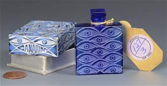 R Lalique Canarina Perfume Bottle